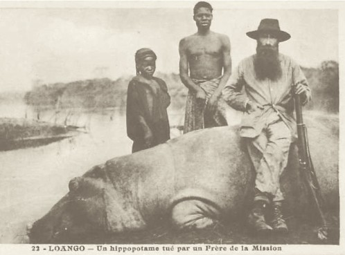 French missionaries in Gabon were among the first big game hunters.