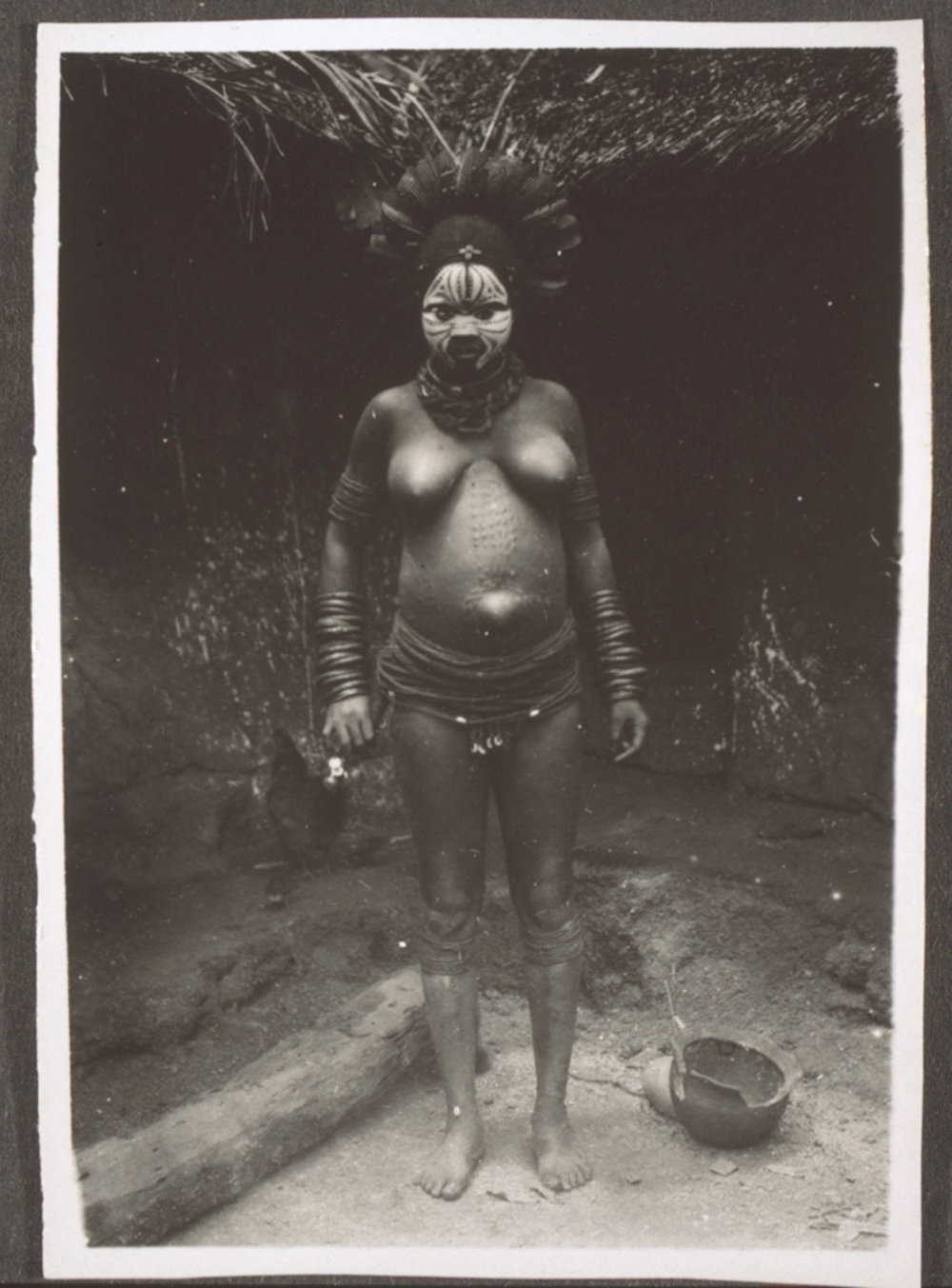A Mboandem woman in Rembong, Cameroon. This photo was taken in 1895.