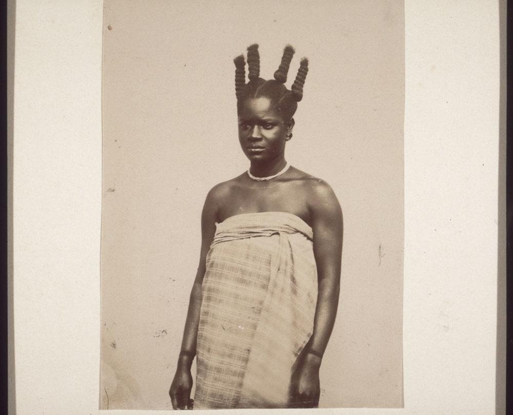 A photo from Ghana circa 1890.