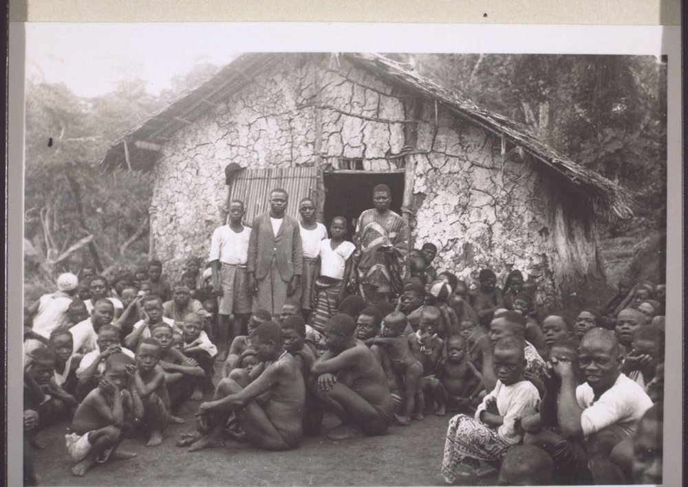 Schoolchildren and candidates for baptism in Ekom, Cameroon, 1930s.