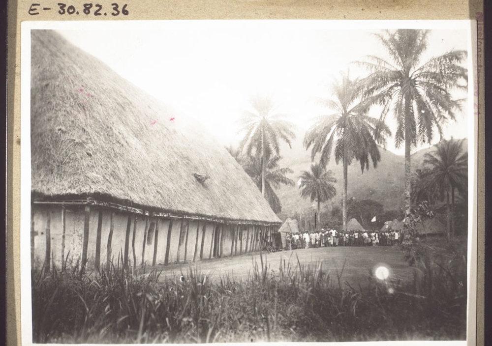 A church in Bamedig, Cameroon, 1928.