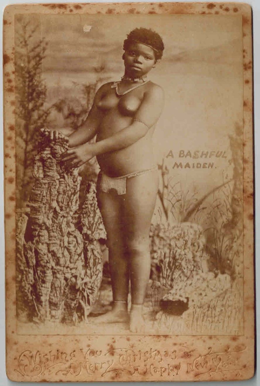 Africa cabinet card, early 1890s. [Published in U.S.A.]