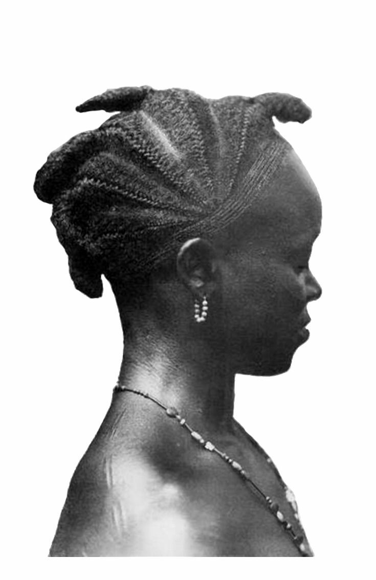 A Guerret girl of Ivory Coast.