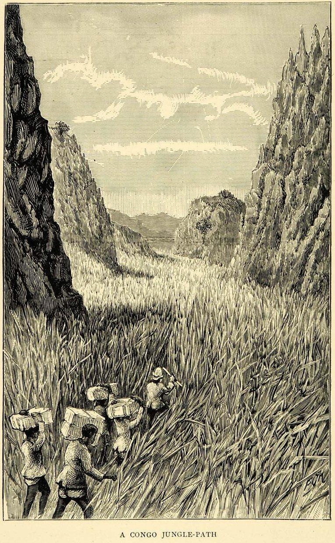 'A Congo Jungle-Path' (c. 1879-80) - Credit:W. Holman Bentley