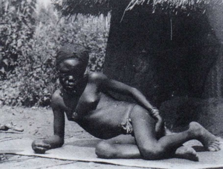A photo from French Equatorial Africa by André Gide, 1926.