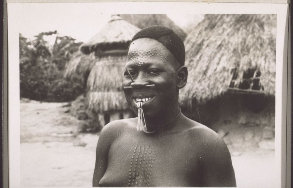 A Mbembe woman, Cameroon, 1930s.