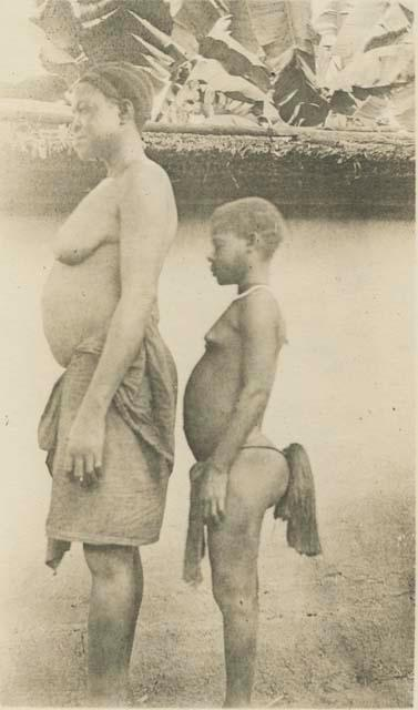 Bantu and Pygmy: two tribes often found together.