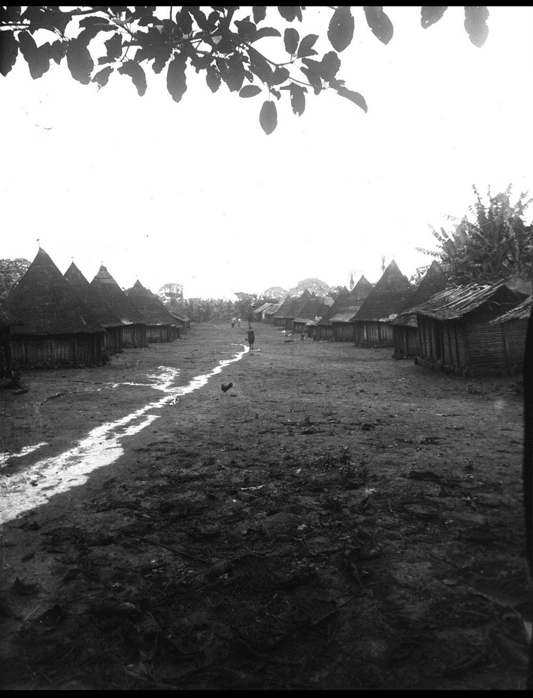 A street in Nyasoso, Cameroon.