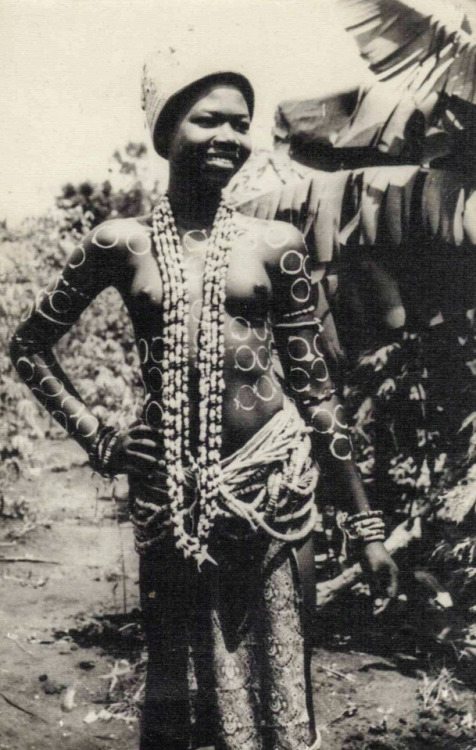 A vintage photo from Ghana, 1950s.