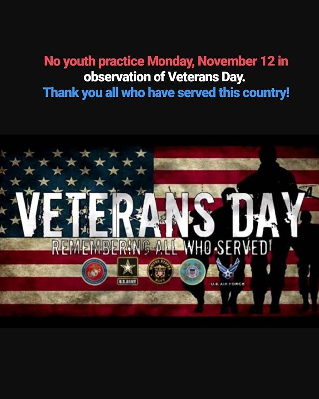 The KWA Youth Program will observe Veterans Day on Monday, November 12. We will resume on Wednesday, November 14.  Thank you all who have served this country!  #thankyouveterans #thankyouvets #gratitude #knightswrestlingacademy #knightswrestling #knights #kwa #kwayouth #wrestling #wrestlers #wrestler #wrestle #arlingtonvirginia #arlingtonva #arlingtonwrestling #arlington