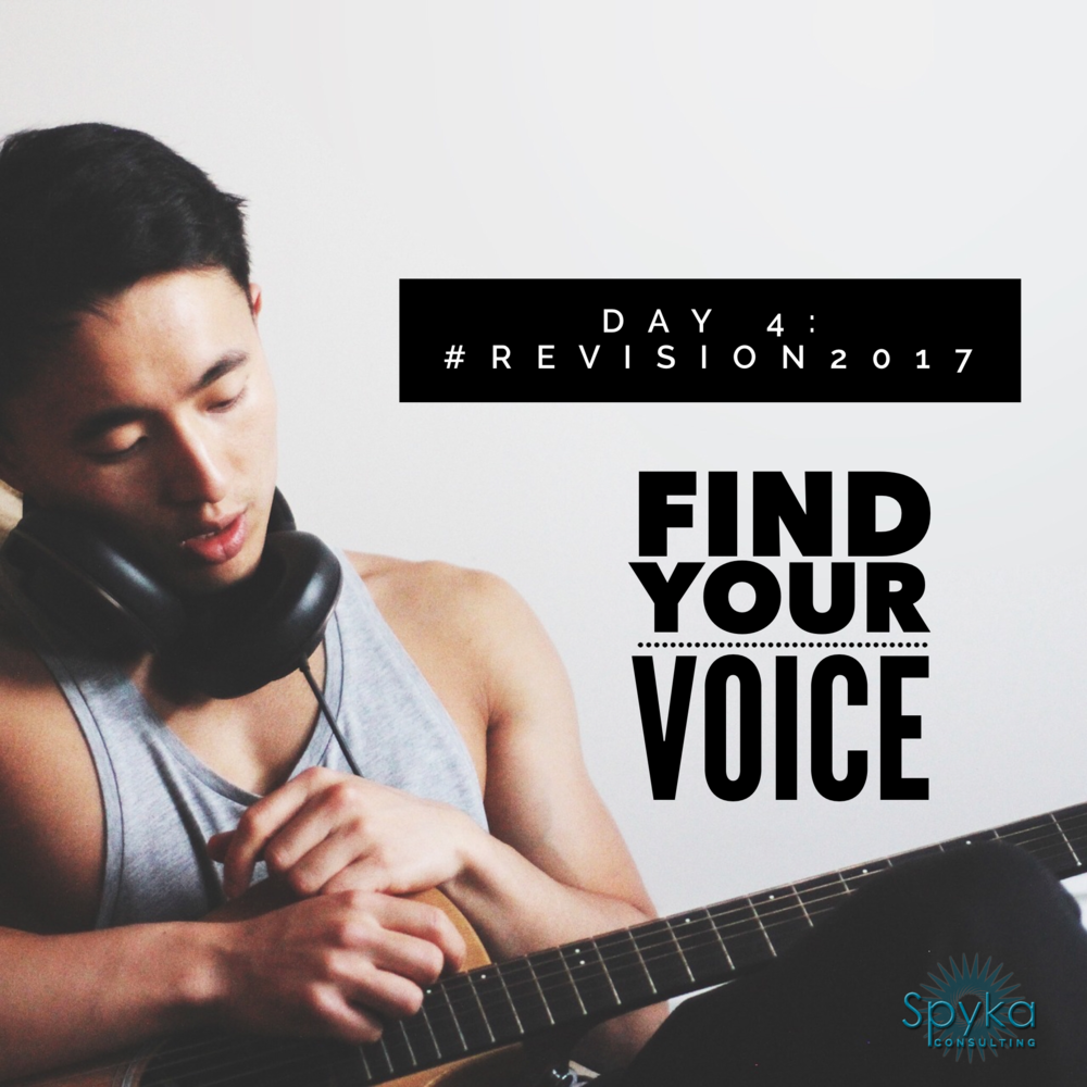 DAY 4: Find Your Voice