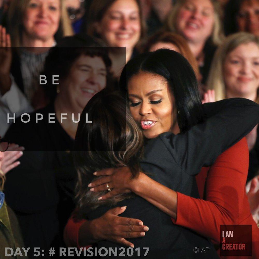 DAY 5: Be Hopeful
