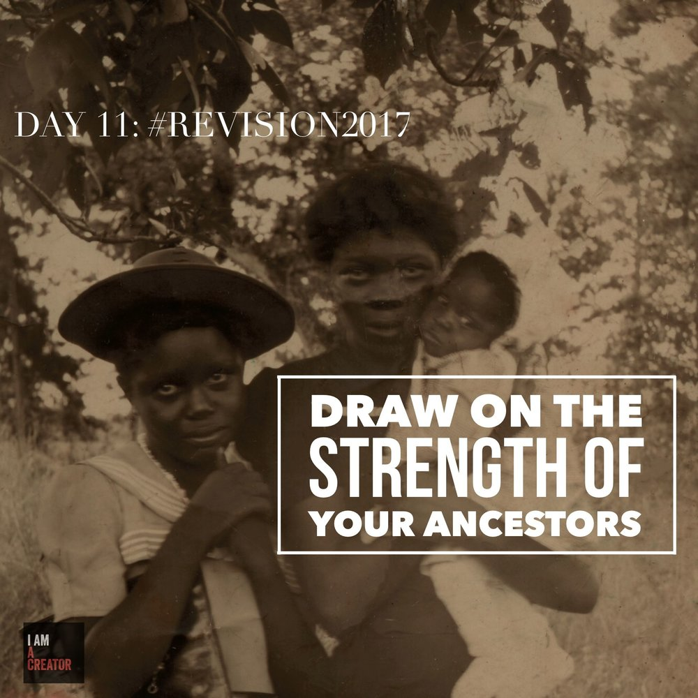 Day 11: Draw on the Strength of Your Ancestors