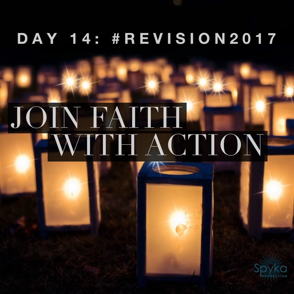 Day 14: Join Faith With Action