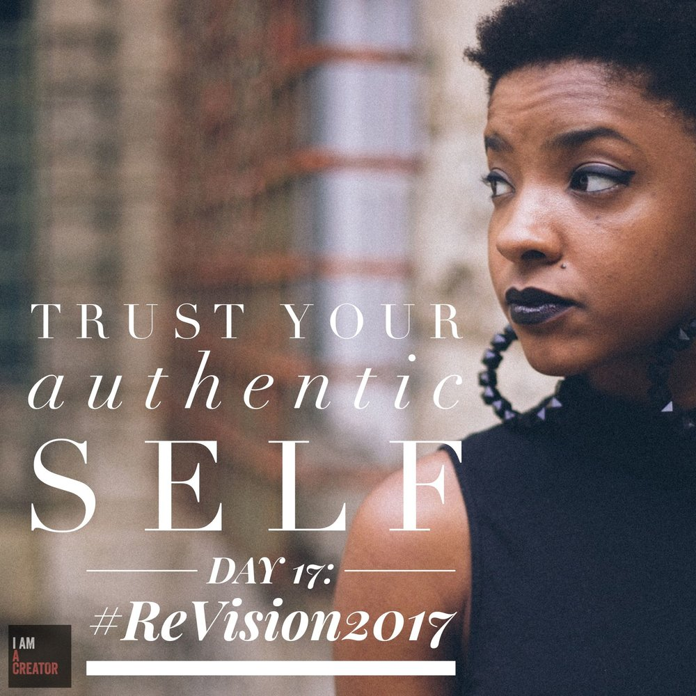 Day 17: Trust Your Authentic Self
