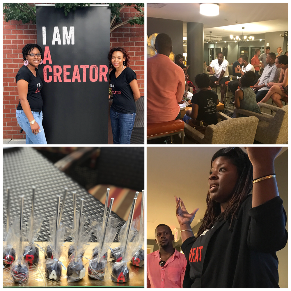 Creator Gatherings & Networking Events - Join us each month for our in-person events -- salon-style discussions, creator exhibits, and workshops -- for the benefit us Creators and our community.Come for the good people and stay for the creative inspiration!