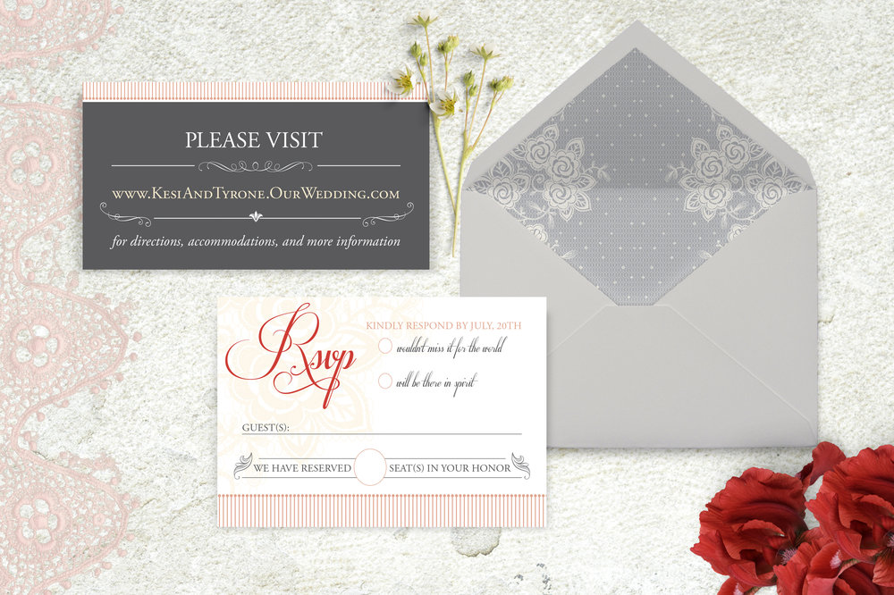 Wright Wedding Invitation Suite