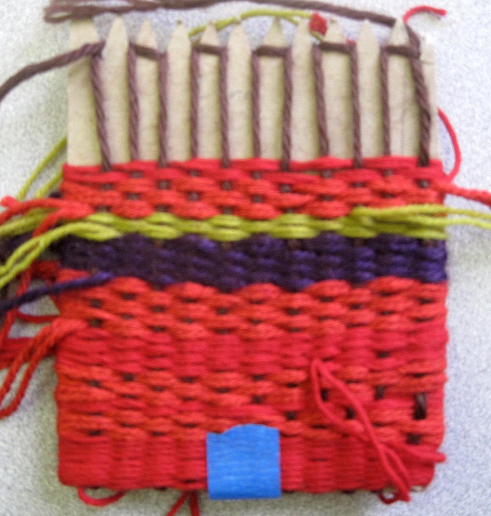 Weaving Study / 3rd Grade