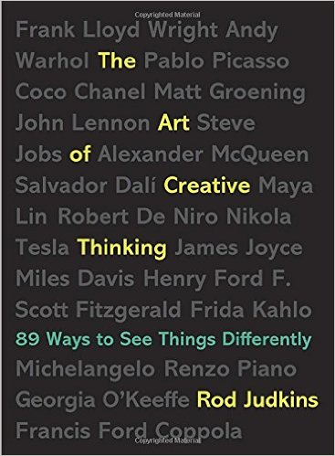 Lina read this The Art of Creative Thinking this month and loved the insights living a creative life not just while you'll making art but in your day-to=day.