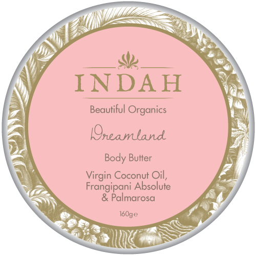 INDAH Dreamland Body Butter, $40 - a nourishing mix of Aloe Vera, Frangipani Absolute and Palmarosa which smells divine and feels great on your skin.