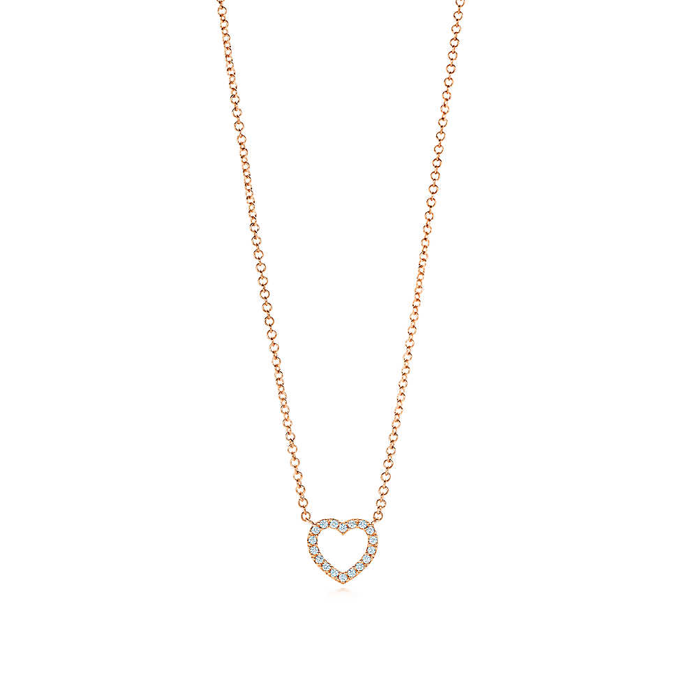 Tiffany-Metro Heart Pendant $1550