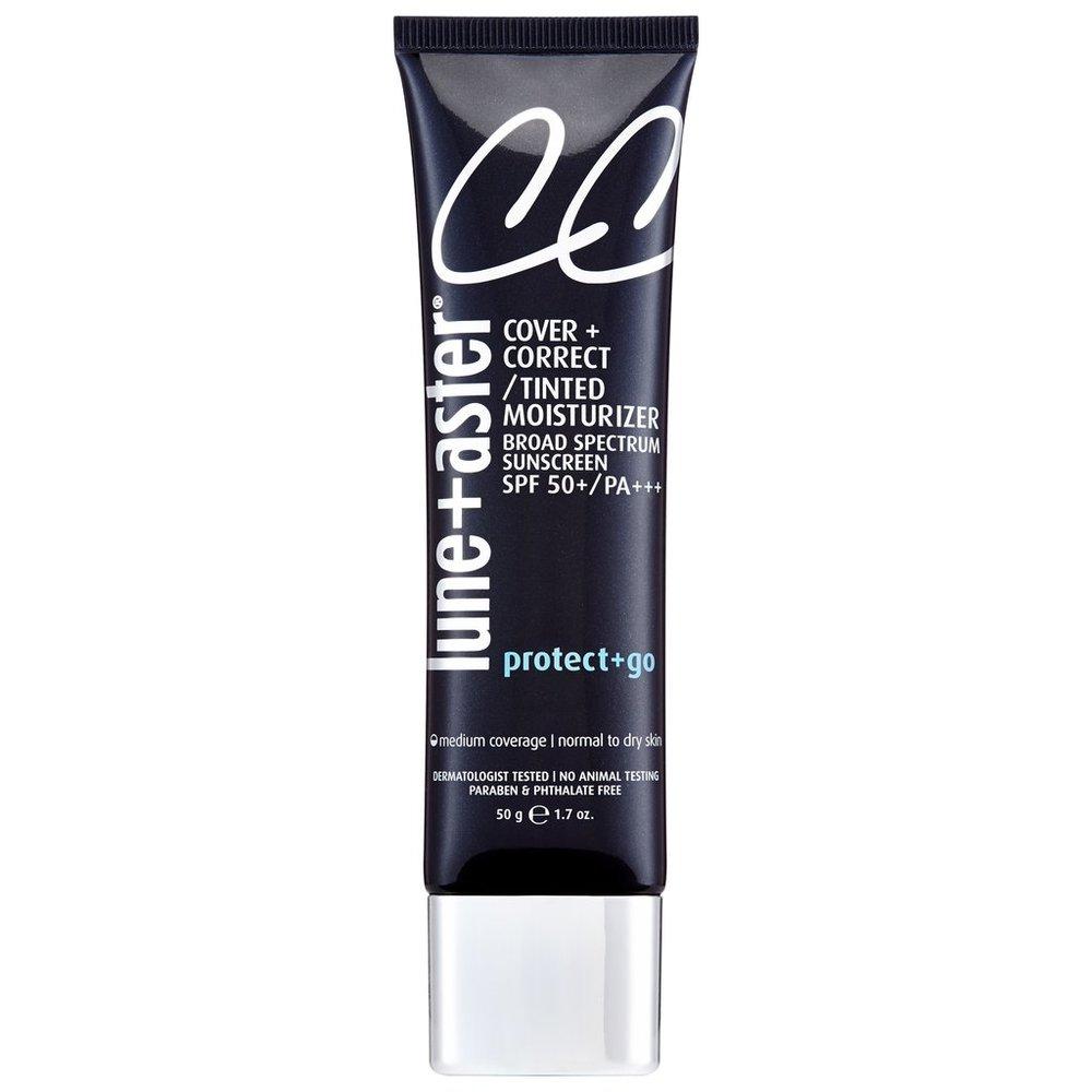lune aster cc cream spf 50 sunscreen tinted moisturizer