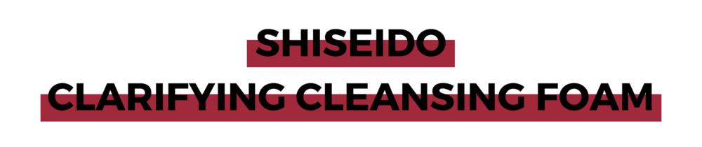 SHISEIDO CLARIFYING CLEANSING FOAM.png