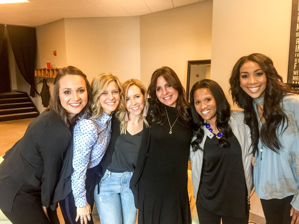 Q WOMEN BACKSTAGE FT. LISA BEVERE & REBEKAH LYONS
