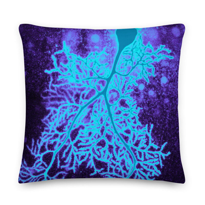 Neuron Throw Pillow Dana Simmons