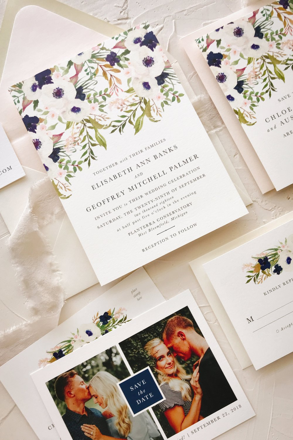 Navy and Blush Wedding Invitation.jpg