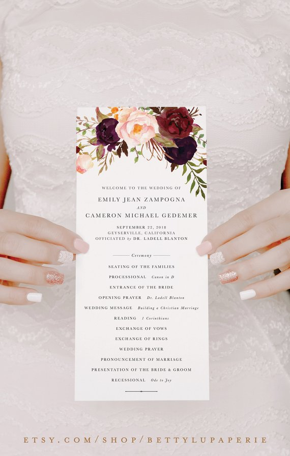 Burgundy Fall Wedding Programs.jpg