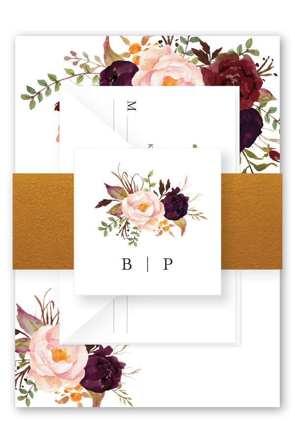Burgundy Floral Wedding Invitation Suite.jpg
