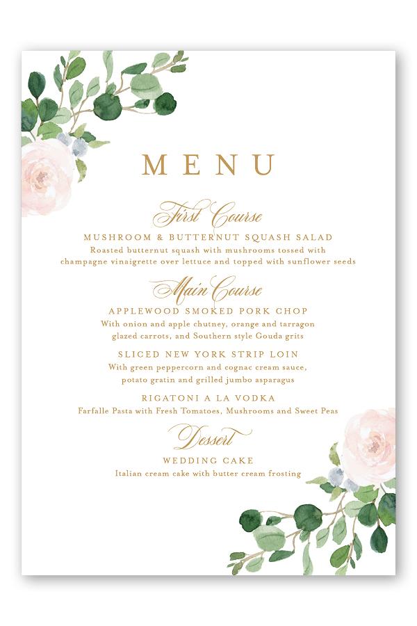 Floral Wedding Menu Card.jpg