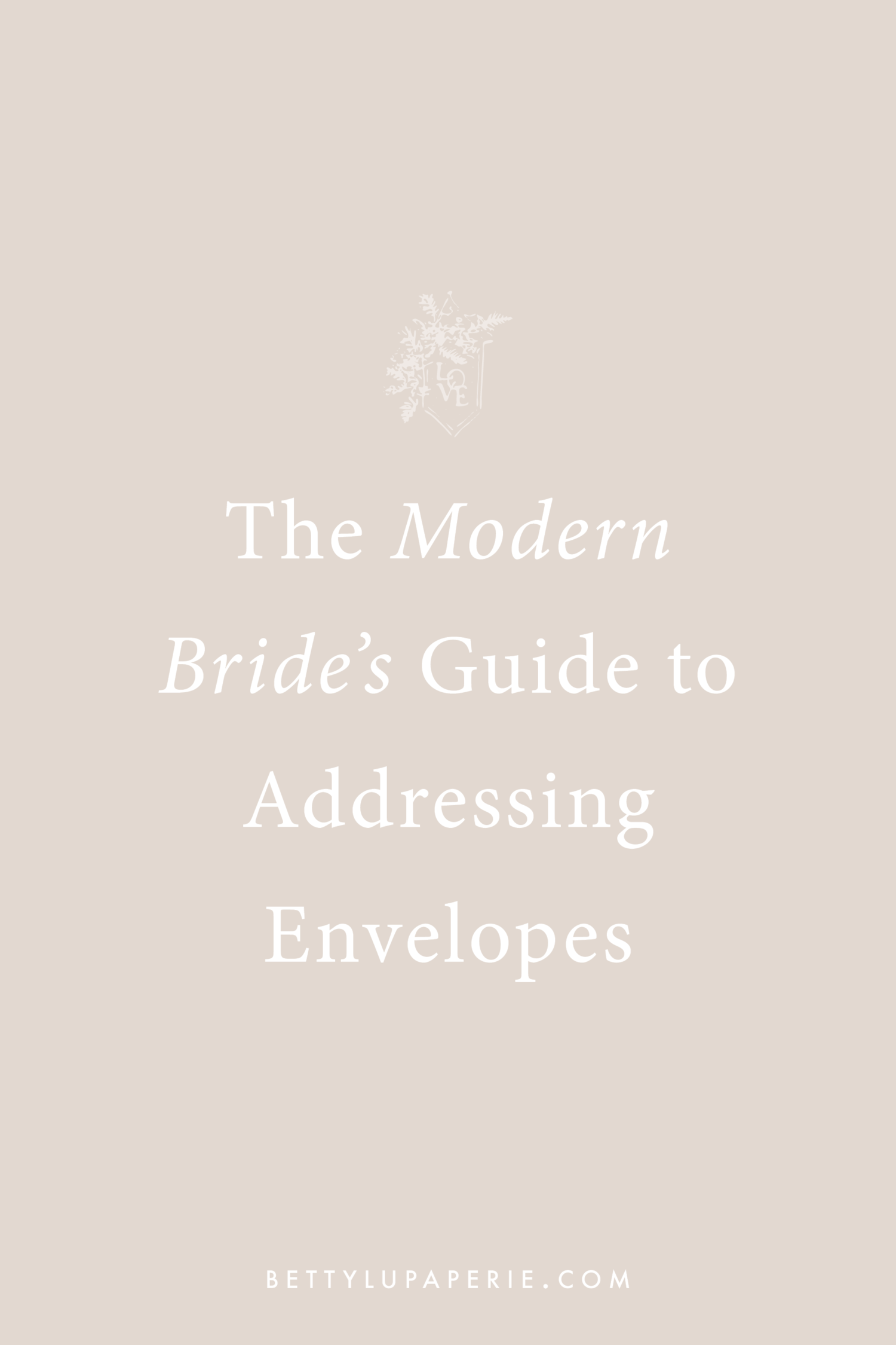 How To Address Wedding Invitations For Modern Brides Floral