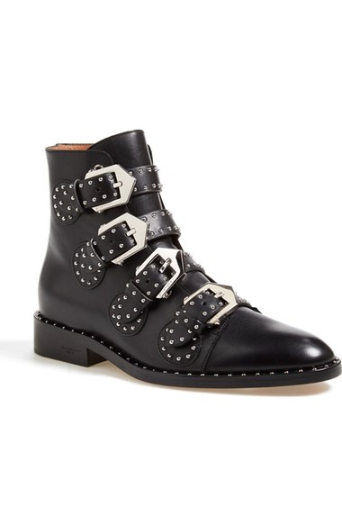 Givenchy Buckle Booties - $1,395