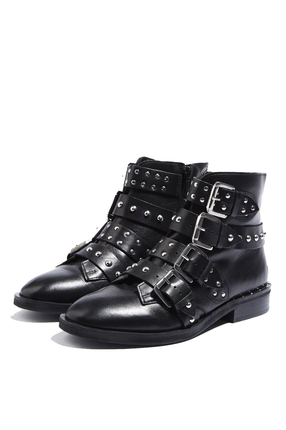 TOPSHOP Buckle Booties - $160
