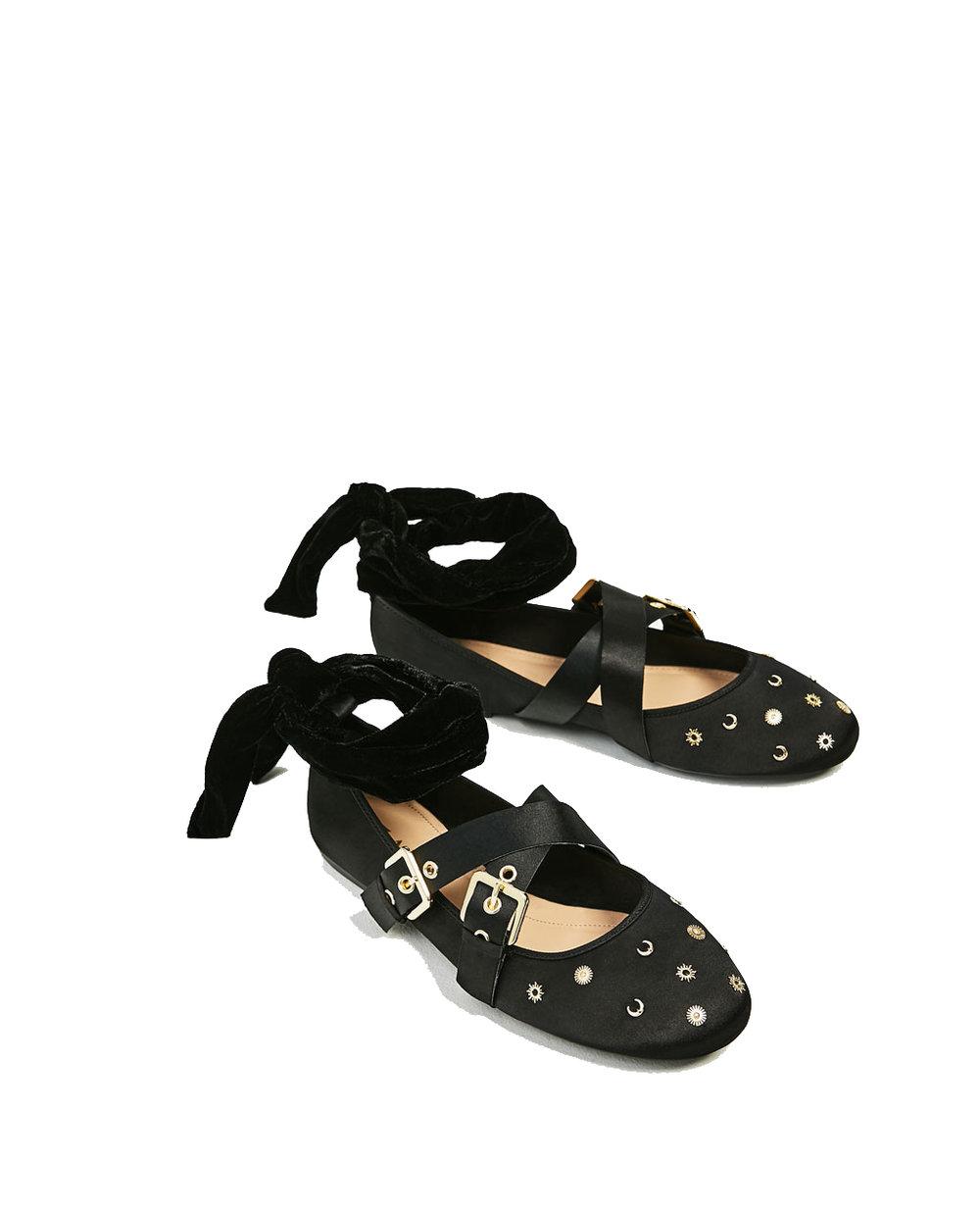 Zara Ballerina Flats - $39.90