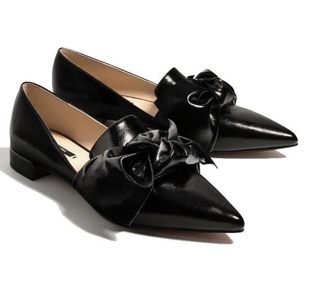 Zara Bow Flats - $29.99