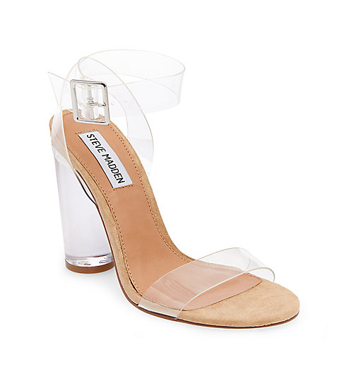 Steve Madden Clear Sandals - $109.95