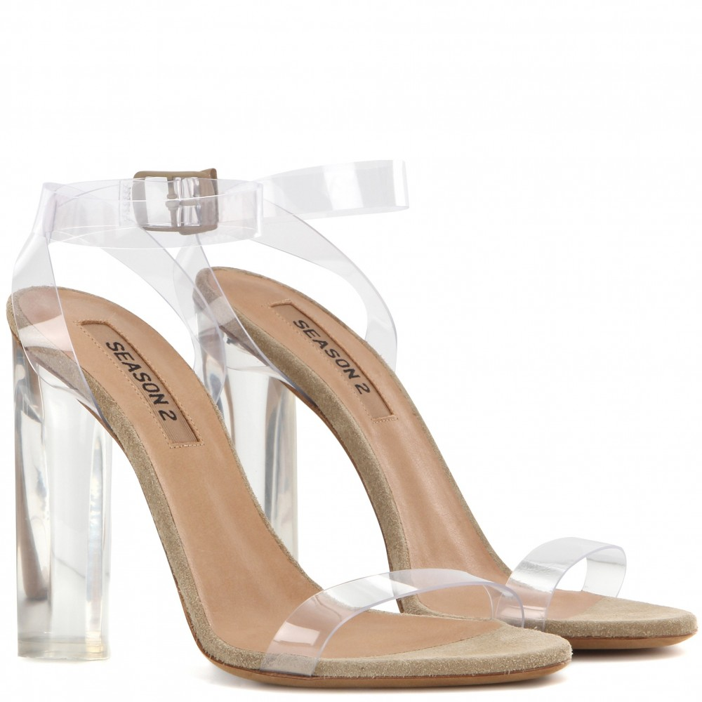 YZY Clear Sandals - SOLD OUT