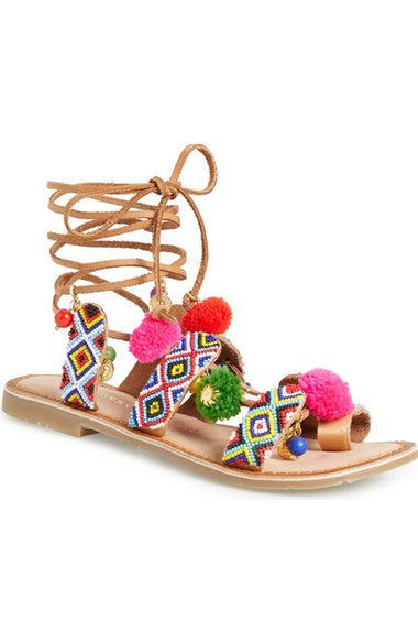 Chinese Laundry Pom Sandals - $79.95