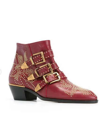 Chloé Studded Booties - $1,080