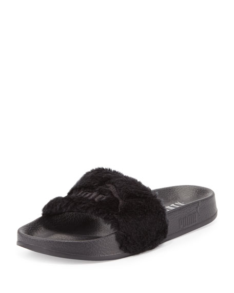 Pump FENTY Fur Slides - SOLD OUT