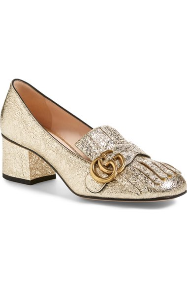Gucci Loafer Pump - $795