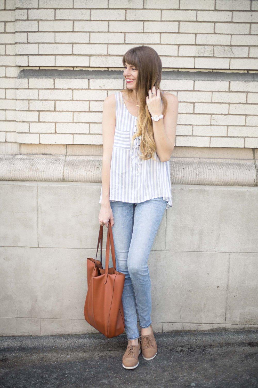 Lace-Up Stripes
