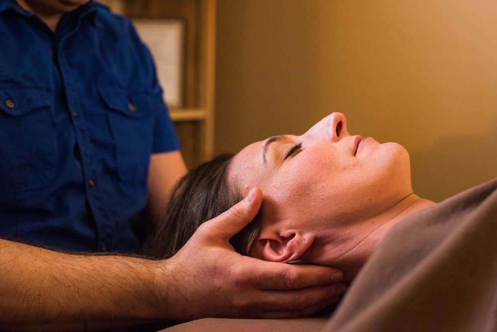 "Craniosacral Therapy - ReVibe's premiere modality. Based upon Osteopathic techniques, this very subtle bodywork enhances the flow of cerebrospinal fluid, which nourishes the central part of your nervous system, the brain and spinal cord. Your nervous system controls the functions of all other systems of the body: muscles, joints, etc., so if it's ""happy,"" other systems are happy. If you are in need of the deepest state of relaxation, this is your modality. 60 minutes is the minimum duration for BCST."