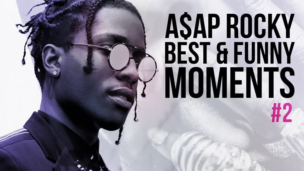 A$AP Rocky Funny and Best Moments - Funny Videos