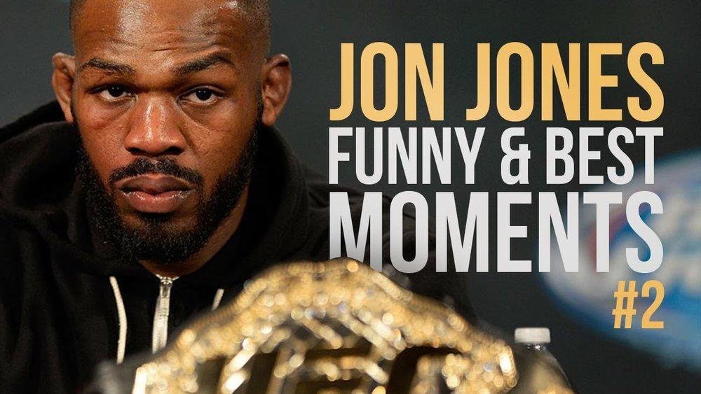 "Jon ""Bones"" Jones Funny and Best Moments Part 2 - Funny Videos"