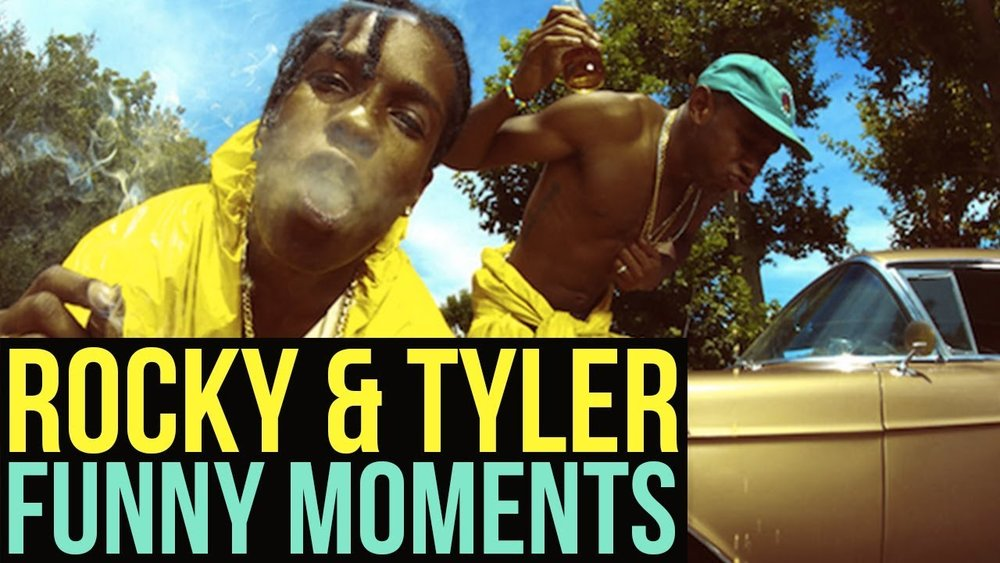 A$AP Rocky and Tyler the Creator Funny and Best Moments - Funny Videos