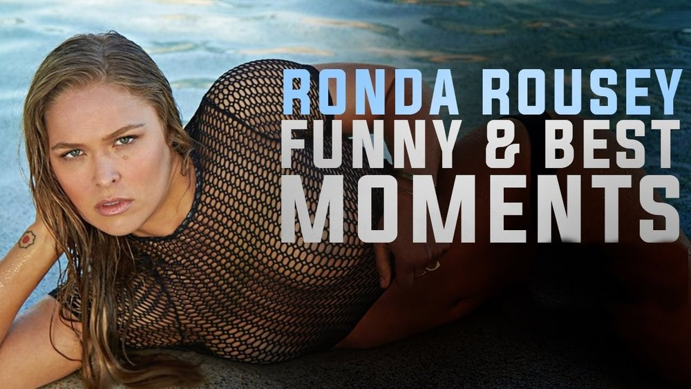Ronda Rousey Funny and Best Moments - Funny Videos